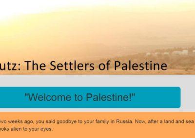 Kibbutz: Settlers of Palestine